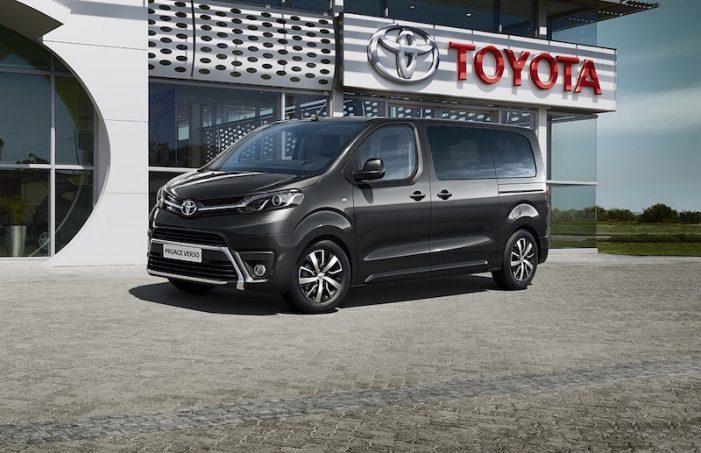 Toyota Proace Verso VIP, una solución para el transporte ejecutivo de profesionales y empresas