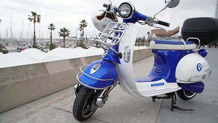 Outo, el motosharing llega a Barcelona con 50 motos disponibles