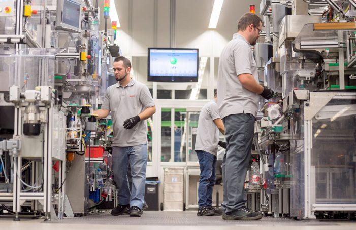 Bosch logra un crecimiento del 7,5% en España en 2016