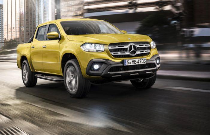 Clase X, el pick-up de gama alta firmado por Mercedes-Benz