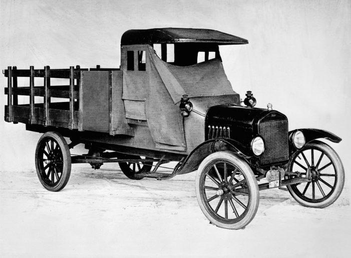 El Modelo TT de Ford cumple 100 años