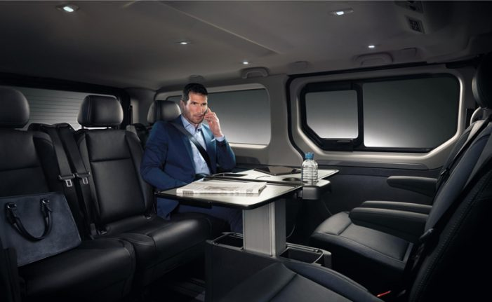 Renault entra en la gama alta del transporte de personas con el Trafic SpaceClass
