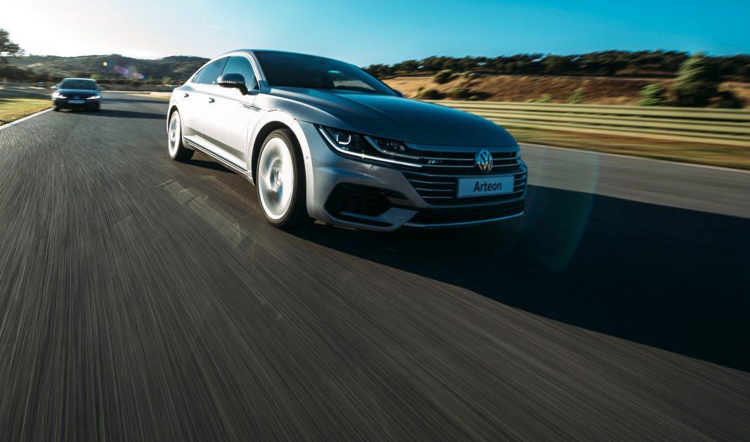 Volkswagen demuestra en circuito el potencial del nuevo Arteon