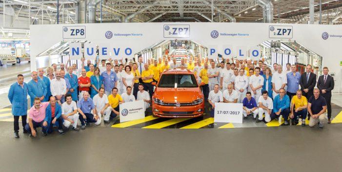 Volkswagen Navarra arranca la producción en serie del nuevo Polo