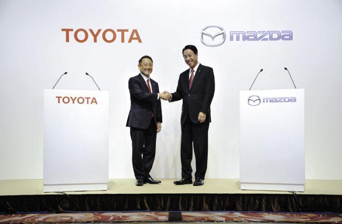 Toyota y Mazda crean una alianza para la tecnología de la movilidad del futuro