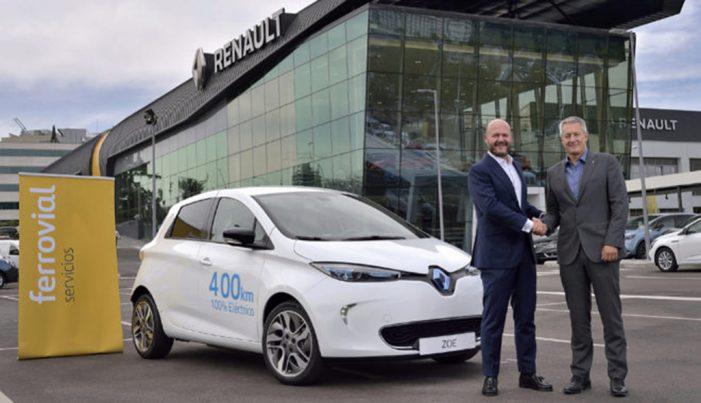 Ferrovial  y Renault, unidos en un nuevo servicio de carsharing en Madrid