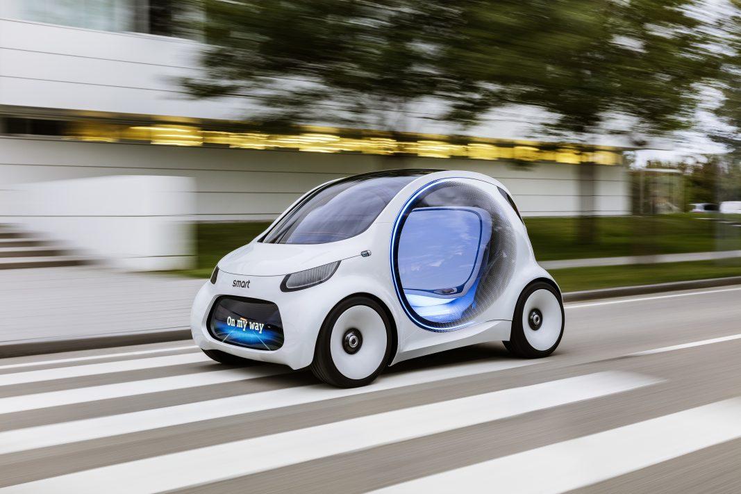 Smart concibe una movilidad urbana del futuro a partir del concepto vision EQ fortwo