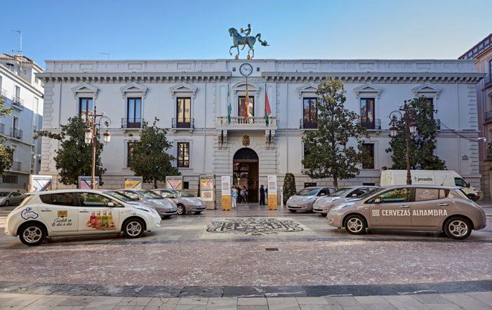 Nissan entrega a Mahou San Miguel una flota comercial 100% eléctrica