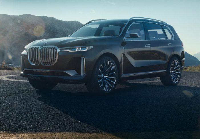 BMW Concept X7 iPerformance, el anticipo del SUV de gran tamaño de la marca bávara