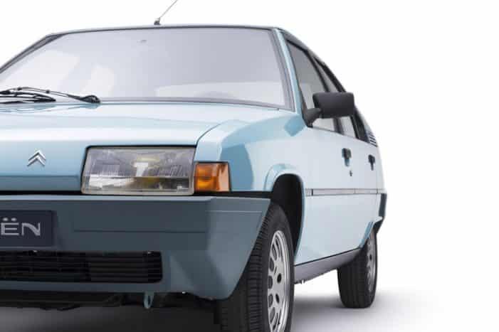Citroën celebra los 35 años del BX, un modelo que llegó a fabricarse en Vigo