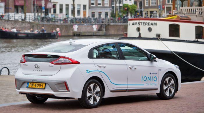 Hyundai iniciará en Amsterdam su primer programa de coches compartidos eléctricos