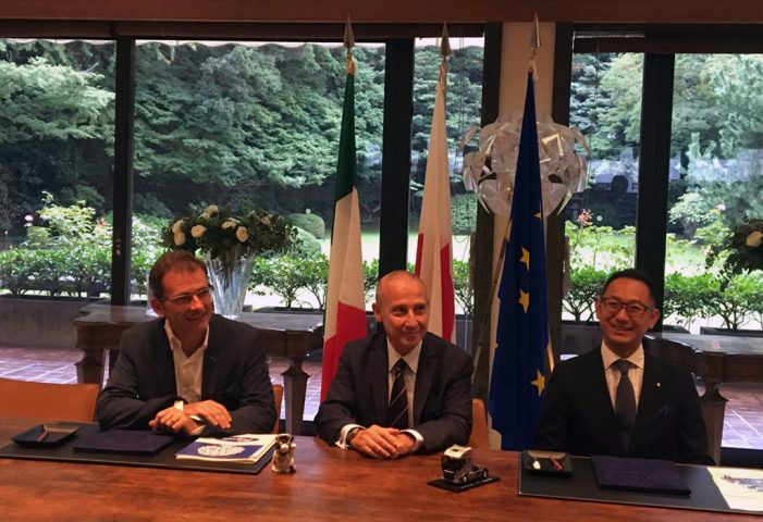 Iveco lanza un programa para el desarrollo del transporte con gas natural en Japón