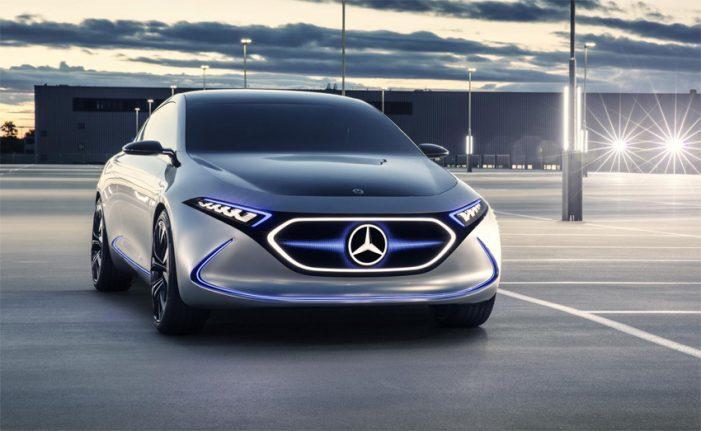 Concept EQA, primer concepto compacto eléctrico de Mercedes-Benz EQ
