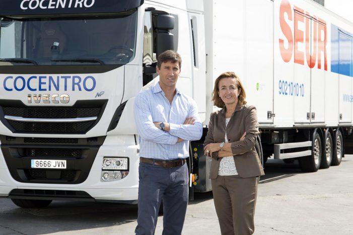 Seur incorpora a su flota de vehículos dos camiones de GNV