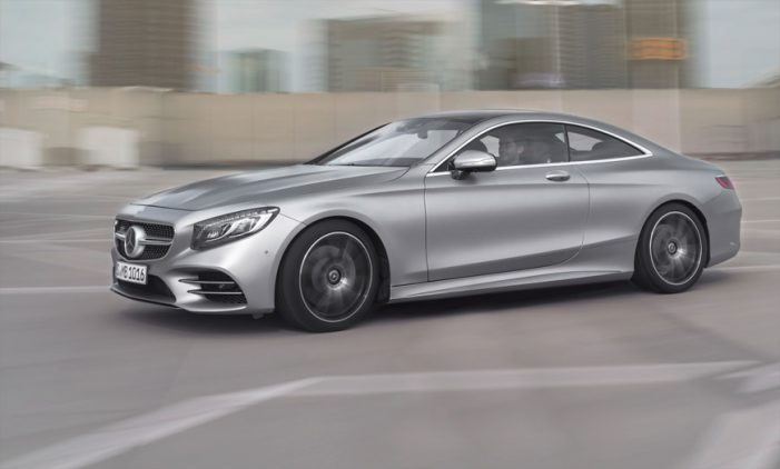Mercedes-Benz actualiza los Clase S Coupé y Cabrio von mejoras estéticas y tecnológicas