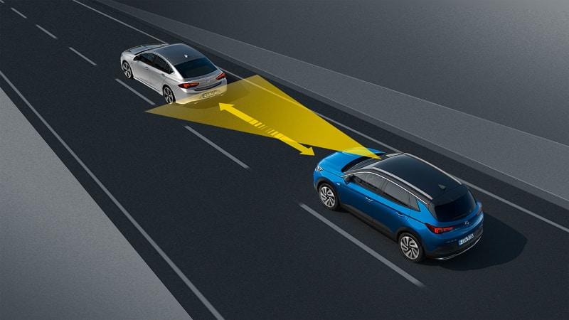 Opel Grandland X, Automatic Cruise Control
