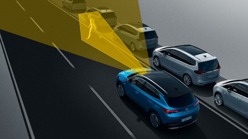 Opel Grandland X,  Forward Collision Warning