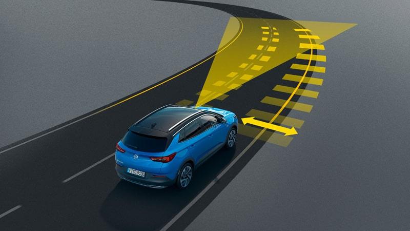 Opel Grandland X, Lane Keep Assist