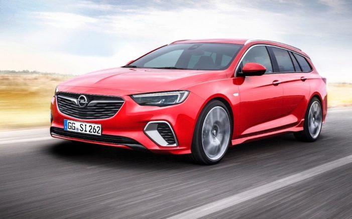 Opel Insignia GSi Sports Tourer, el familiar (station wagon) deportivo