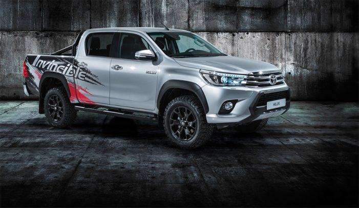 Toyota Hilux 'Invincible 50', una edición especial para celebrar medio siglo