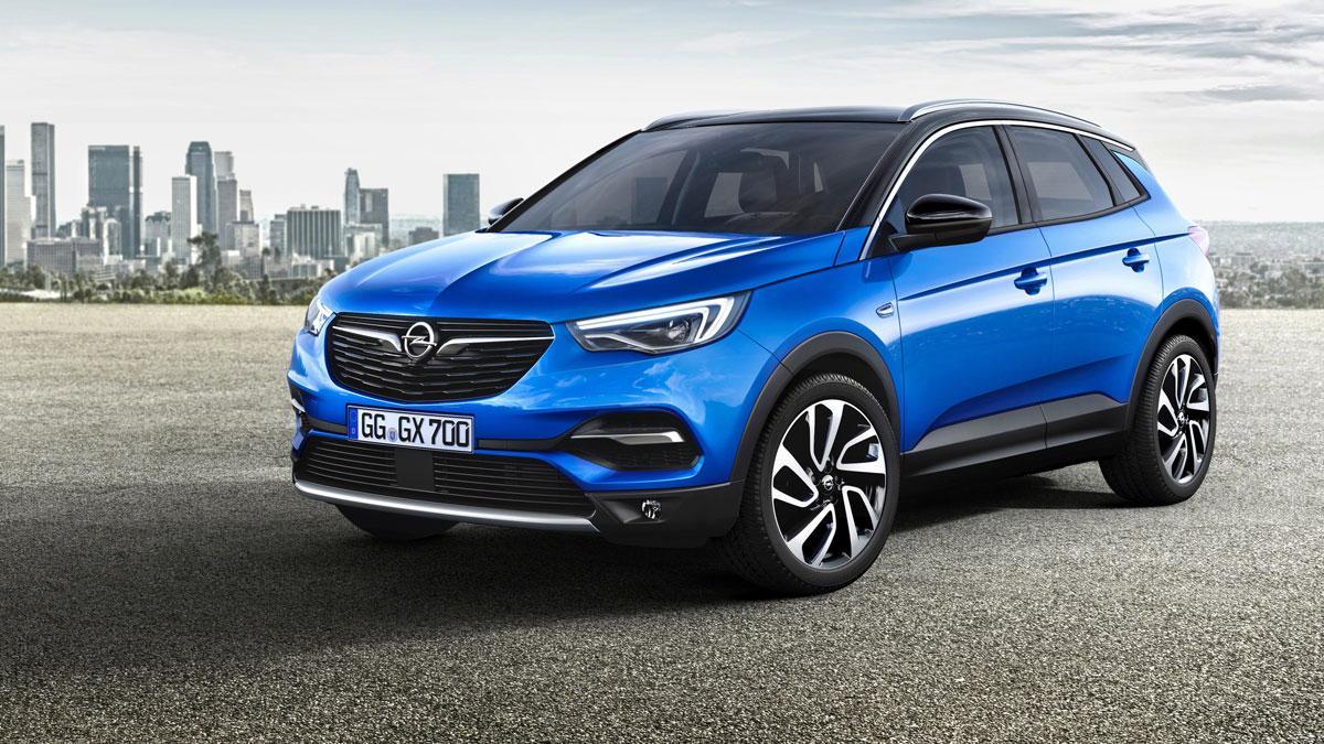 El Granland X de Opel, también presente en el Salón del Automóvil de Fráncfort. // FOTOGRAFÍA: OPEL