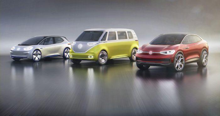 Volkswagen marca la pauta de su movilidad eléctrica a partir de tres modelos