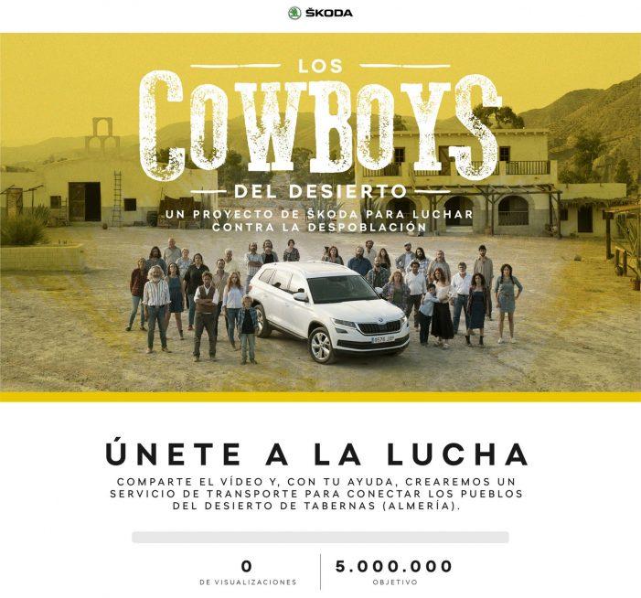 Skoda lucha contra la despoblación con Los Cowboys del Desierto