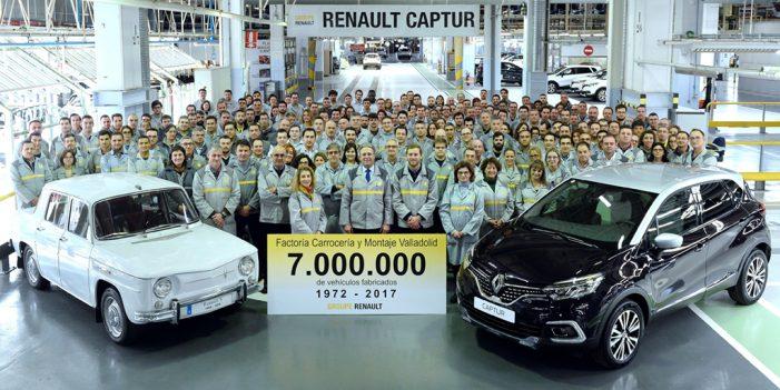 Renault fabrica el vehículo número siete millones