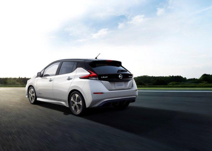 El nuevo Nissan Leaf, con más autonomía, ya está disponible desde 300 euros al mes