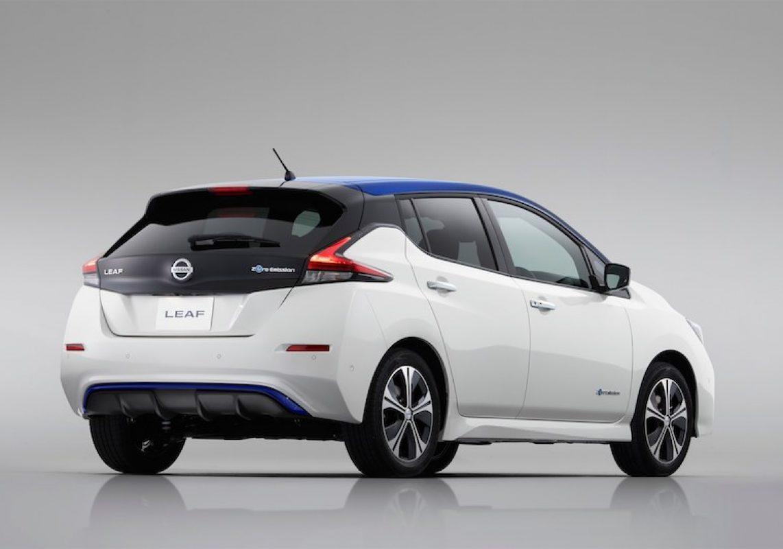 New Nissan LEAF wins first international award
