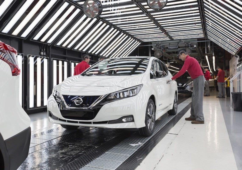 Старт производства нового Nissan Leaf в Европе