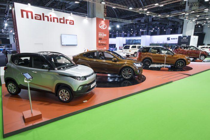 Mahindra anuncia unas ventas mundiales de 51.149 vehículos en octubre