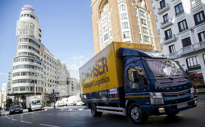Dachser y Mercedes Benz Trucks reducen las emisiones en Madrid