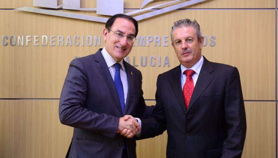 Caser Seguros y la CEA colaboran en la gestión de las pymes andaluzas