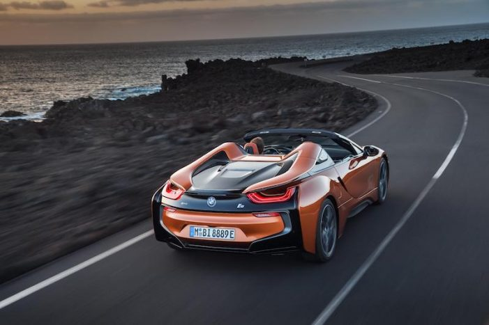 BMW i8 Roadster, un exclusivo convertible que estará en el mercado en mayo de 2018