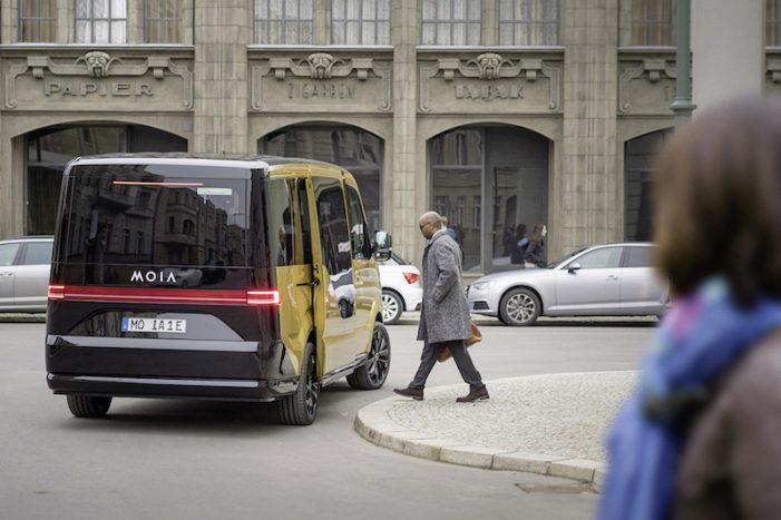 MOIA (VW) pondrá en marcha con el Ridepooling el primer servicio de viaje compartido