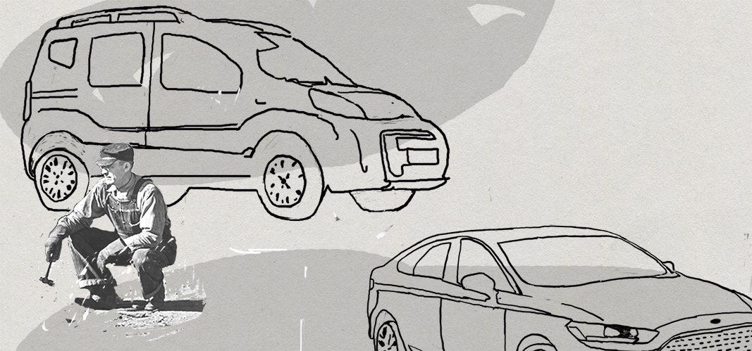 El retrato robot de las flotas de coches en España
