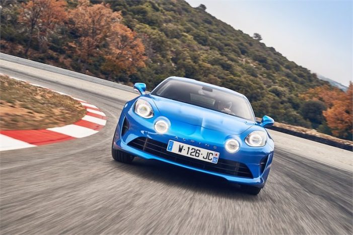 Renault Alpine 110 Première Édition, un deportivo para el retorno de la marca Alpine