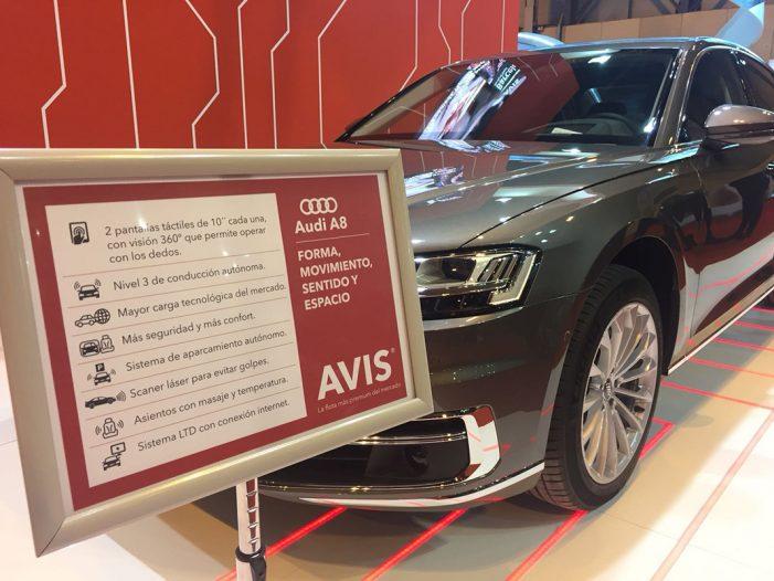 Avis incorpora a su flota Premium el nuevo Audi A8