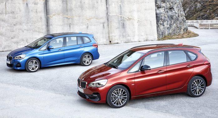 BMW actualiza los modelos Serie 2 Active Tourer y Serie 2 Gran Tourer