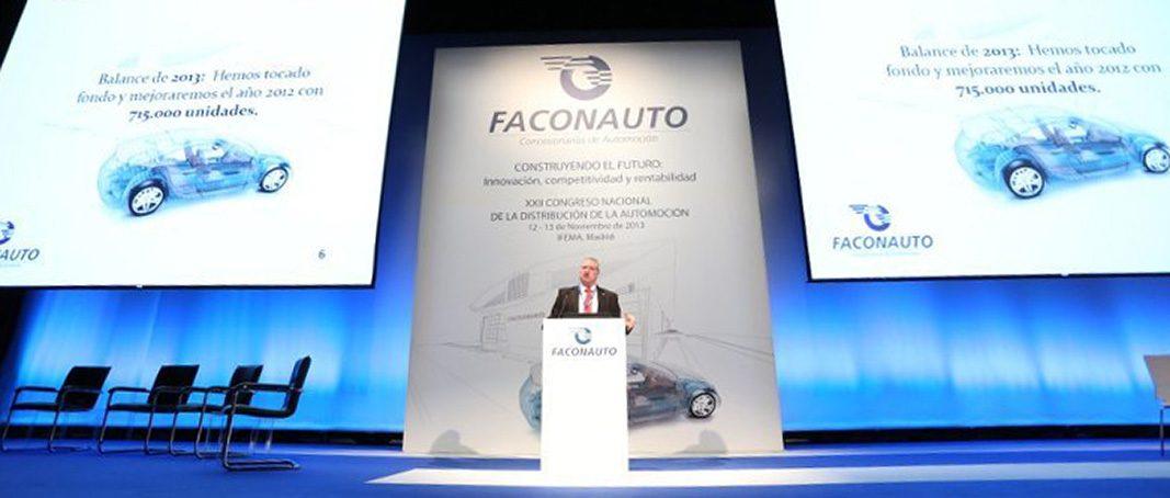 El XXVII Congreso de Faconauto reunirá a más de 1.000 profesionales de la automoción
