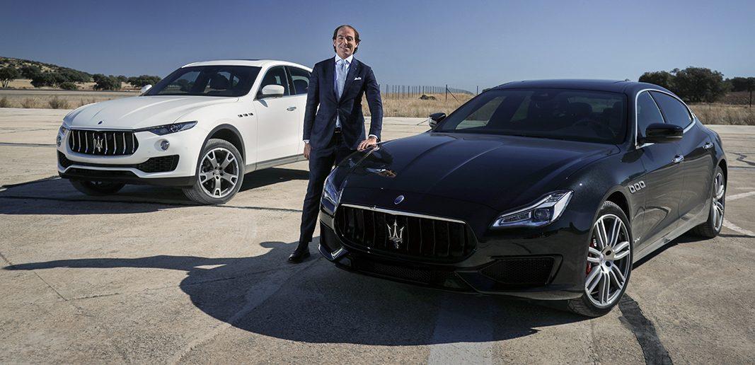 El lujo de decidir lo tiene Marco Dainese (de Maserati)