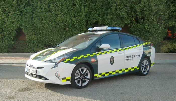 La Agrupación de Tráfico de la Guardia Civil apuesta por Toyota