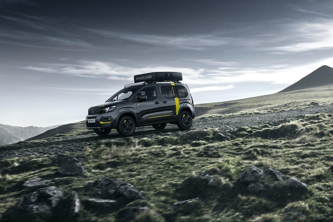 Peugeot Rifter 4×4 Concept, un 'show car' para los aventureros