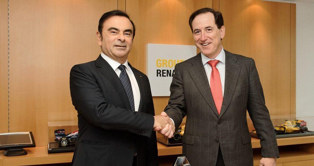 Mapfre amplia su acuerdo con Renault Sport Formula One Team