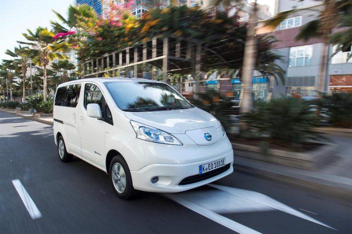 Nissan incrementa en 100 kilómetros la autonomía de la furgoneta eléctrica e-NV200