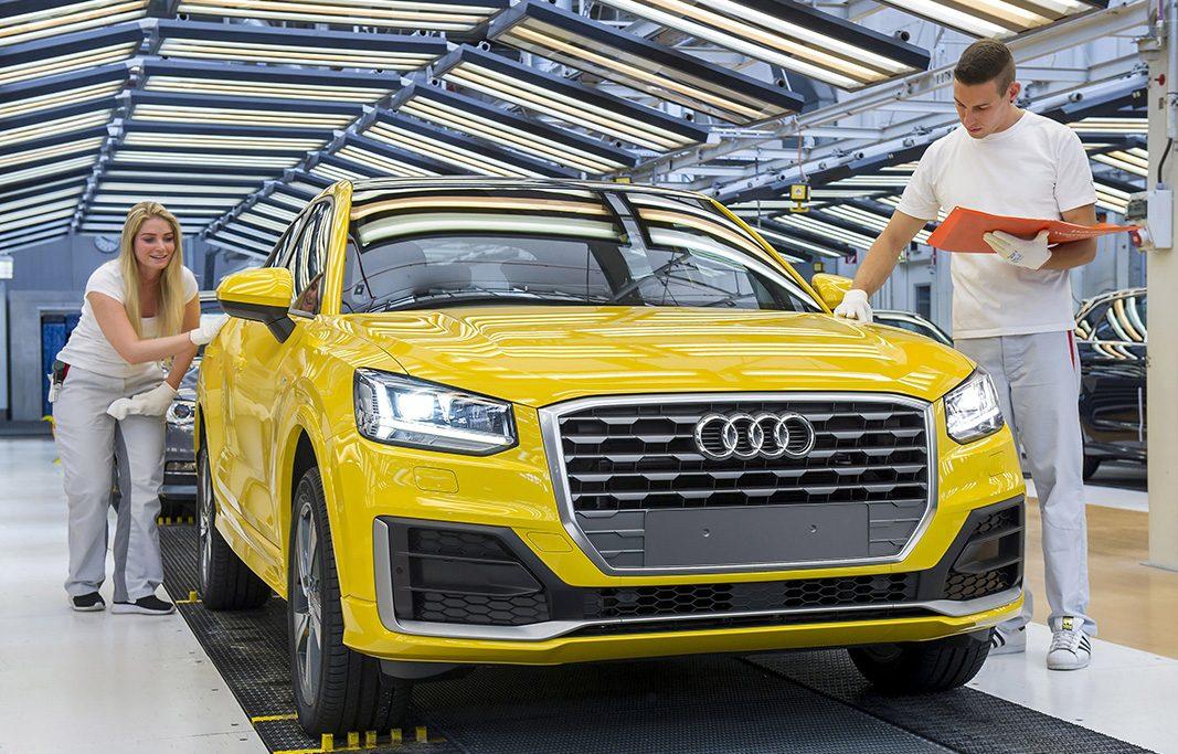 La producción de vehículos sube un 9,8% en enero