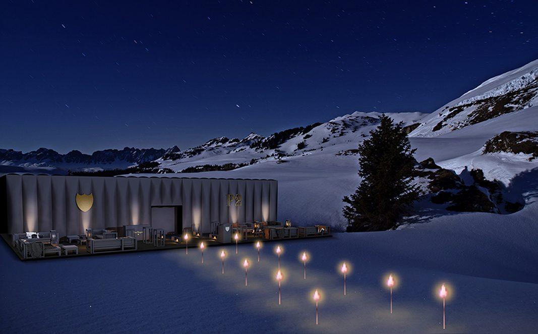 Dom Pérignon crea el primer Lodge efímero de lujo en Baqueira Beret