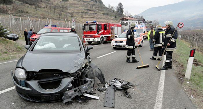 Los accidentes leves aumentan en España en 2017