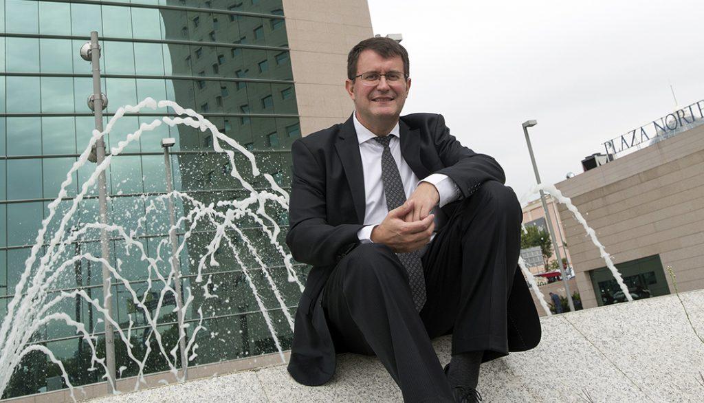 Luc Soriau es el primer ejecutivo de Arval en España. FOTOGRAFÍA: FERNANDO ARÚS
